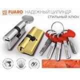 Цилиндровый механизм D-PRO500/68 mm (26+10+32) CP хром 5 кл. FUARO (с индивидуальным ключом)