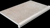 Подоконник Plastolit, цвет мармур матовый 400 мм