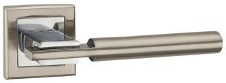 Ручка раздельная CITY QL SN/CP-3 матовый никель/хром PUNTO (на раздельном основании)