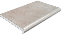 Подоконник Plastolit, цвет мармур матовый 350 мм