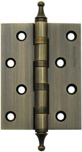 Петля универсальная 4500A (500-A4) 100x75x3 AВ Бронза Box ARMADILLO накладные (карточные)