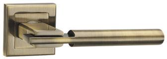 Ручка раздельная CITY QL ABG-6 зеленая бронза PUNTO (на раздельном основании)
