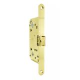LH 19-50 GP BOX Защелка межкомнатная с планкой (золото) ARMADILLO (без ручек в комплекте )