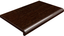 Подоконник Plastolit, цвет венге глянец 450 мм