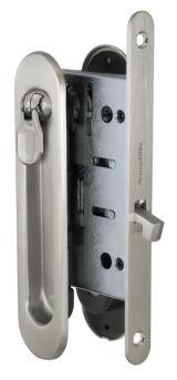 Набор для раздвижных дверей SH011-BK SN-3 Матовый никель ARMADILLO