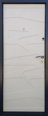 Входная дверь Форт Нокс, Акцент New, мдф/мдф цемент маранго/цемент мендаль DG -43 - Изображение 1