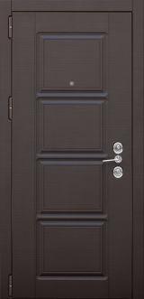 Входная дверь Форт Нокс,Троя New, мдф/мдф венге горизонт темный DO-31