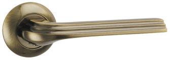 Ручка раздельная BOLERO TL ABG-6 зеленая бронза PUNTO (на раздельном основании)