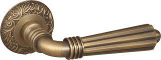 Ручка раздельная DEMETRA SM AB-7 матовая бронза FUARO