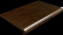 Подоконник Plastolit, цвет рустикальный дуб глянец 300 мм