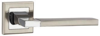 Ручка раздельная TECH QL SN/CP-3 матовый никель/хром PUNTO (на раздельном основании)