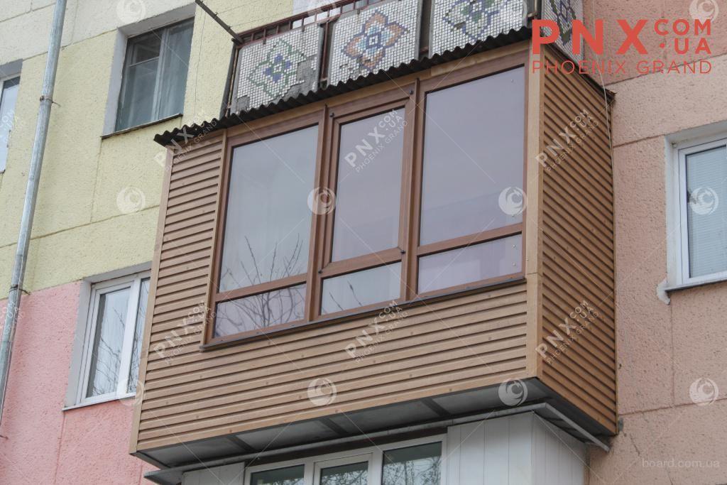 Остекление балконов в киеве, расширение балконов в киеве, ба.